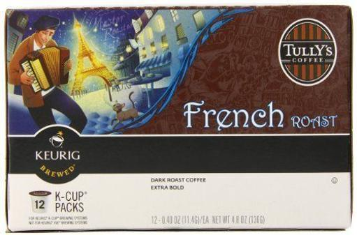 Tully's Coffee French Roast Keurig K-Cups I4FWBMFYULODHJNT