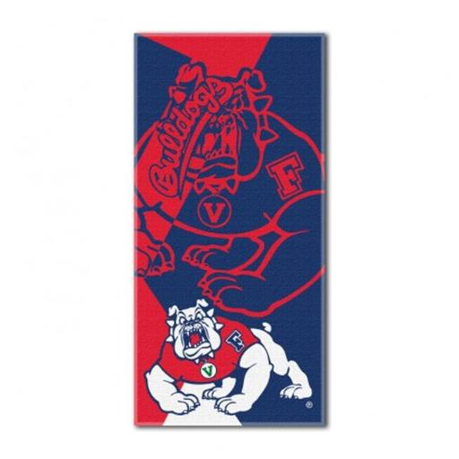 The Northwest 1COL-62200-0048-RET COL 622 Fresno State Puzzle Beach Towel HFUD7FECLAXACVAF