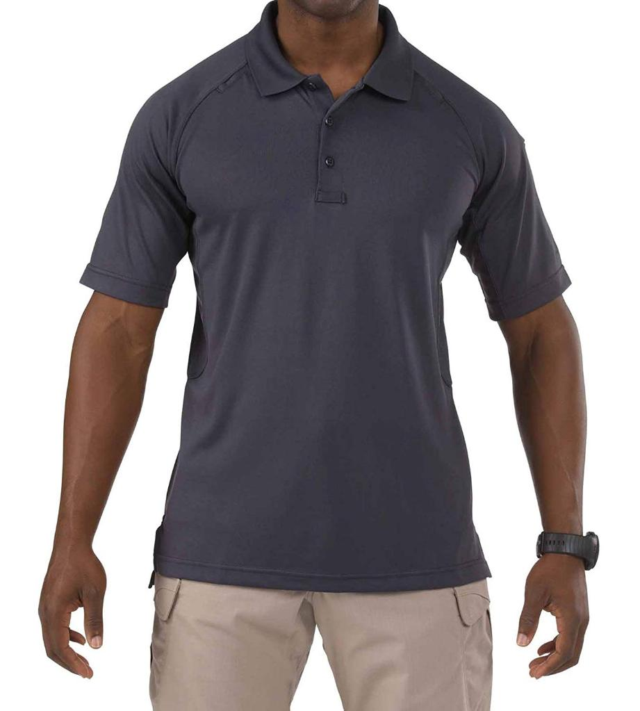 5.11 Performance Polo Short Sleeve, Charcoal, Size X-Large
