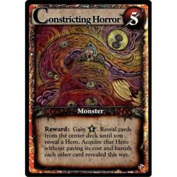 Ultra Pro Ascension AGPRM-029 Constricting Horror Promo Game Card Brand New Promotional