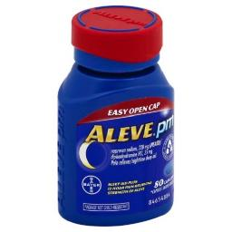 Aleve PM Easy Open Cap Pain Reliever Sleep Aid