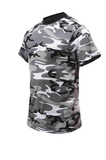 Kids City Camouflage T-Shirt