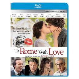 To rome with love (blu ray) (ws/1.78/dol dig 5.1/eng/us/hindi) BR41357