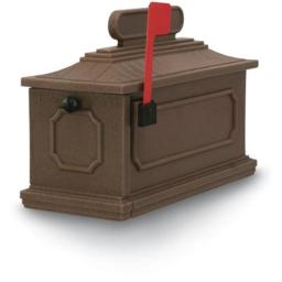 Postal Products Unlimited N1027185 Coffee 1812 Architectural Series Mailbox, 10