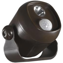 Acclaim lighting(r) b200bz motion-activated led mini spotlight (bronze)
