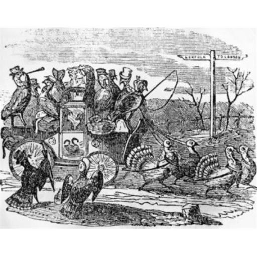 Posterazzi SAL995110303 Fancy Turkey Coach From Peters Parleys Picture Book by Samuel Goodrich 1834 Poster Print - 18 x 24 in.