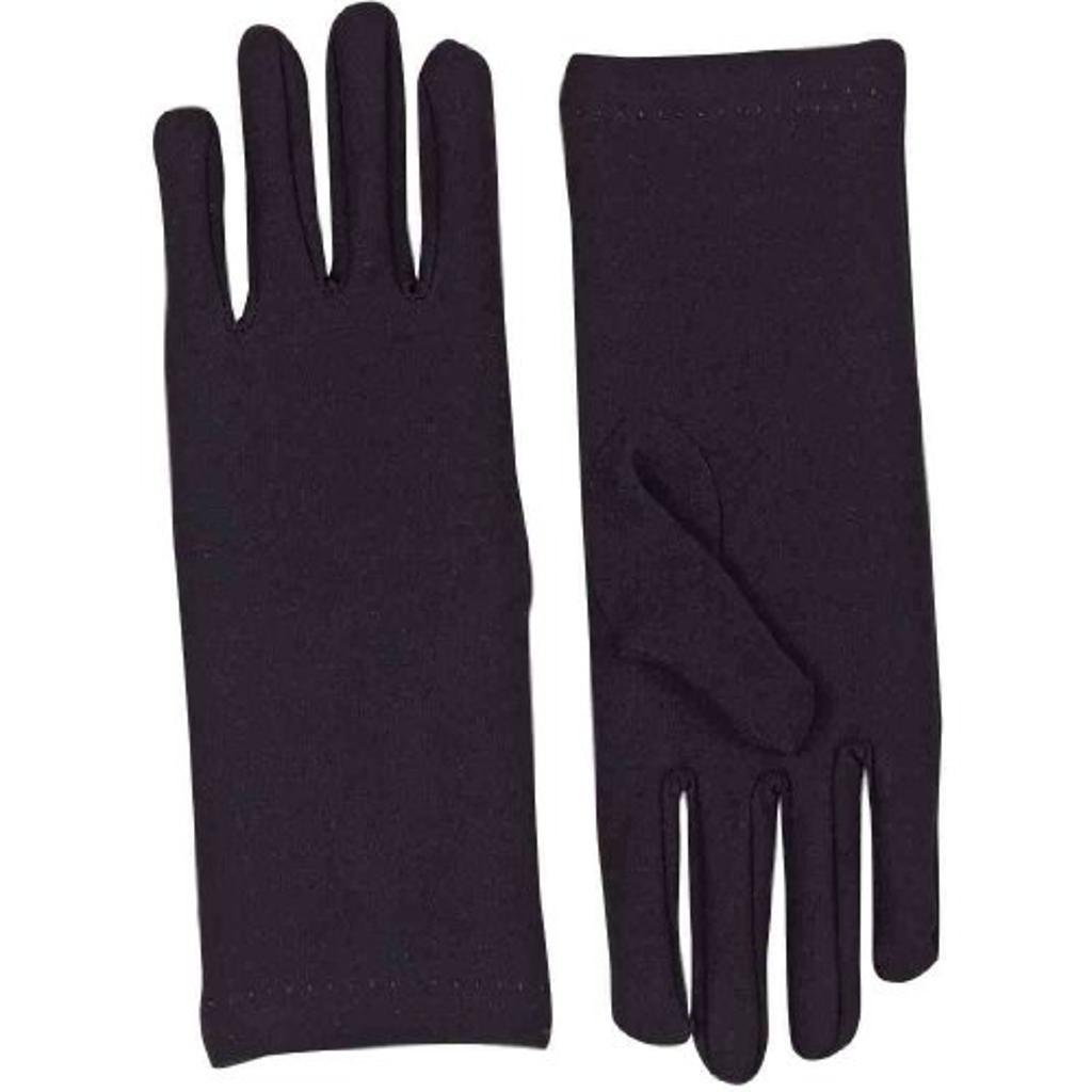 Short Dress Gloves-Black