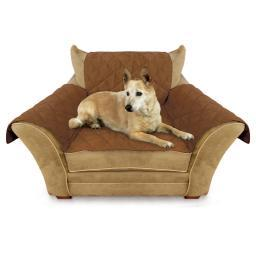 K&H Pet Products 7801 Mocha K&H Pet Products Furniture Cover Chair Mocha 22 X 26 Seat, 42 X 47 Back, 22 X 26 Sid