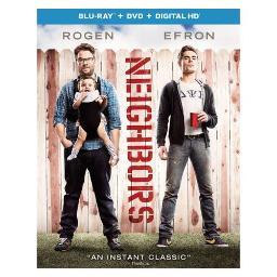 NEIGHBORS (BLU RAY/DVD W/DIGITAL HD/ULTRAVIOLET) (2DISCS) 25192198496