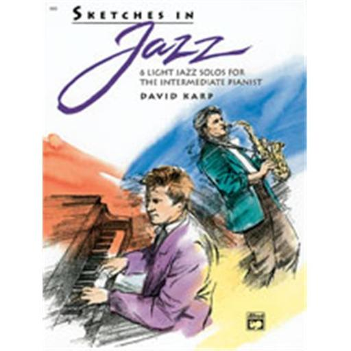 Alfred 00-6685 Sketches in Jazz - Music Book