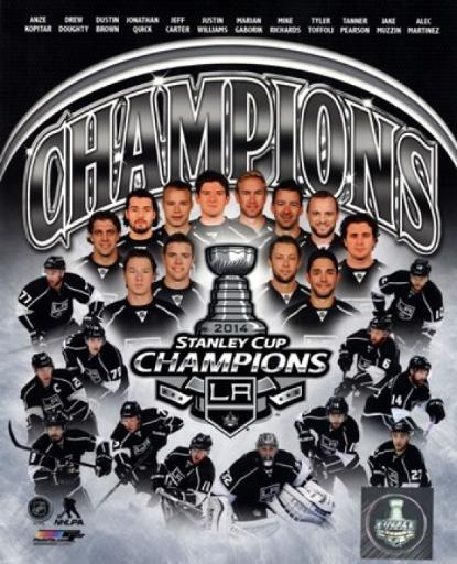 Los Angeles Kings 2014 Stanley Cup Champions Composite Sports Photo WK4FCIDHKTY6745I