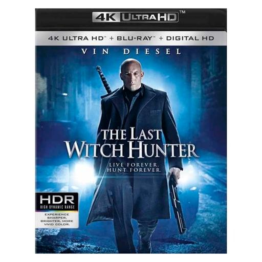 Last witch hunter (blu ray/4kuhd) 1704363
