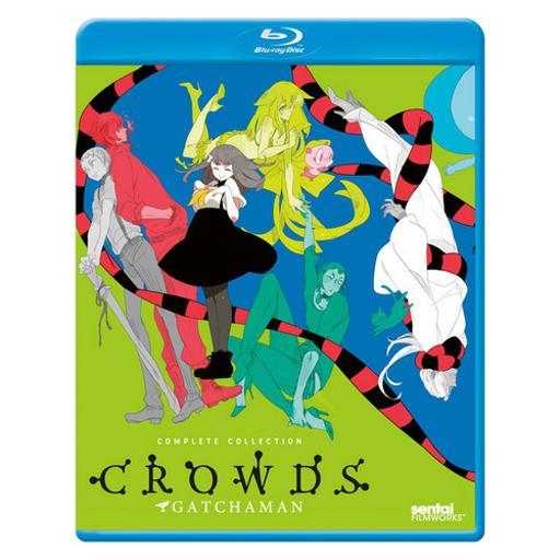 Gatchaman crowds complete collection (blu ray) (japanese w/engnla ZOIAY9TVIUGLA9TE