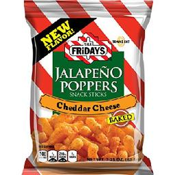 Tgi Friday Jalapeno Popper Sticks 2.25 Oz Each ( 6 In A Pack )