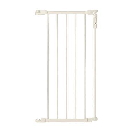 North States 4958 White North States 6-Bar Linen Extension For Deluxe D Cor Gate White 15 X 30