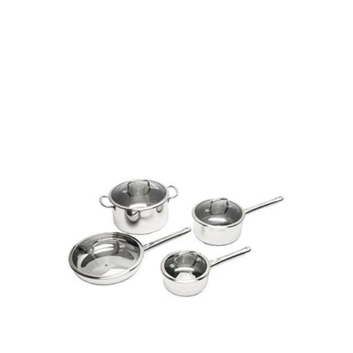 BergHOFF 2211097 EarthChef Stainless Steel Cookware Set - 8 Pieces