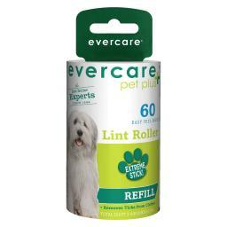 Evercare 617211 evercare pet plus extreme stick 60 sheet refill 4 x 2.25 x 2.25 617211