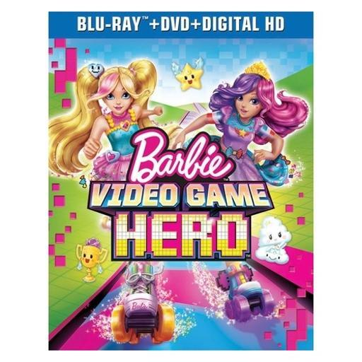 Barbie-video game hero (blu ray/dvd w/digital hd) 7N1VIEEZJGHB2BQC