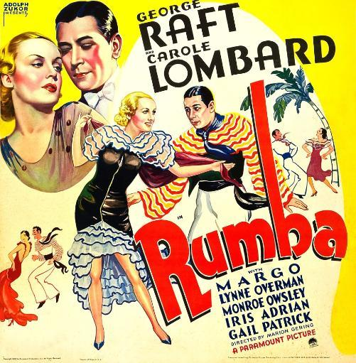 Rumba Us Poster Art Large Figures From Left: Carole Lombard George Raft Carole Lombard George Raft 1935 Movie Poster Masterprint