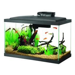 Aqueon 100527256 black aqueon 10 gallon led aquarium kit black 20.2 x 10.5 x 13.3