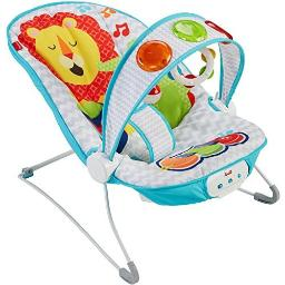 Fisher-price ffx45 musical bouncer kick n play