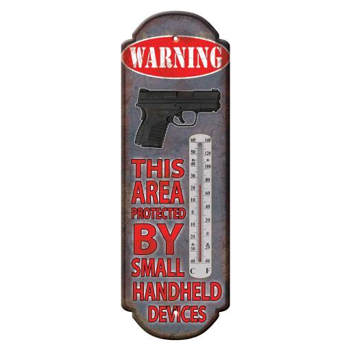RIVERS EDGE PRODUCTS 1320 RIVERS EDGE PRODUCTS 1320 Warning Hand Held Device Tin Thermometer