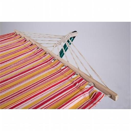 Sunnywood, Inc. 4356TRC Sterling Outdoor Extra Wide Hammock in a Tropical pattern