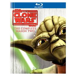 Star wars-clone wars-season 2 (blu-ray/4 disc/ff-4x3/sp-fr sub) BR154423