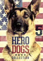 5-movie hero dogs collection (dvd)           nla D40274D