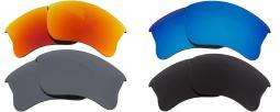 Best SEEK Polarized Replacement Lenses Oakley HALF JACKET 2.0 XL Gry Red Sil Blu 032-05030410-01