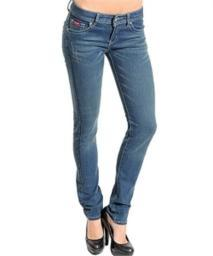 Blue Denim Slim Leg Jeans New With Tags