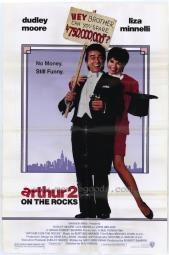 Arthur 2: On the Rocks Movie Poster Print (27 x 40) MOVEH9661