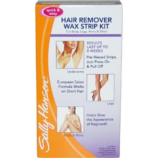 Merchandise 0620955 Sally Hansen Quick & Easy Hair Remover Wax Strip Kit for Under Arms Legs & Body Women WZM6ZMBUOFSKEYH5