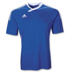 0c49c1856 Adidas Men s Tiro 11 Jersey T-Shirt Cobalt White Size Youth Small
