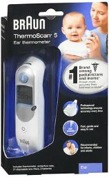 Braun Thermoscan 5 Ear Thermometer - 1 Each, Pack Of 4