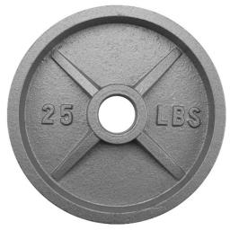 Brybellyholdings Swgt-504 25 Lbs. Olympic Style Iron Weight Plate