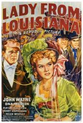 Lady from Louisiana Movie Poster Print (27 x 40) MOVIH8724
