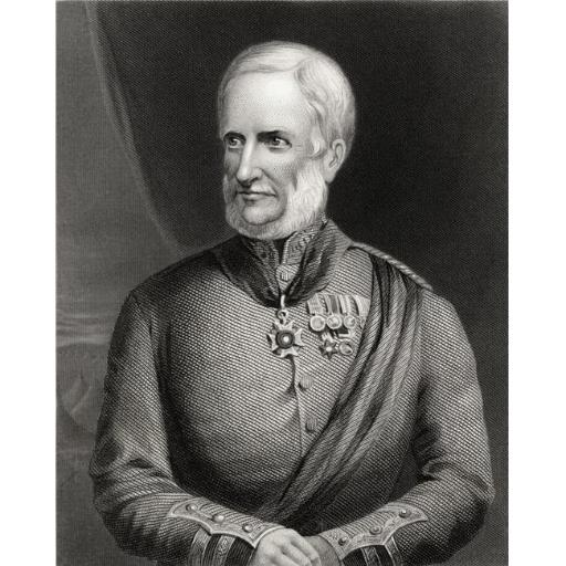 Posterazzi DPI1860734LARGE Major General Sir Henry Havelock 1795-1857 Britsh General 19th Century Engraving After C Holl Poster Print, 26 x 32