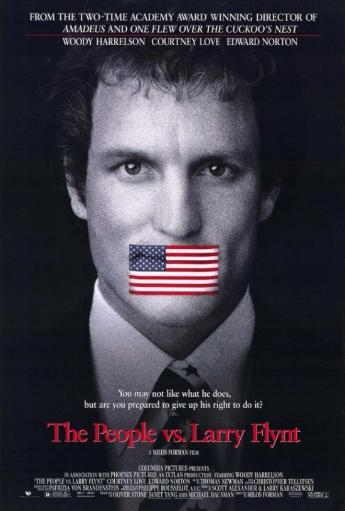 The People vs. Larry Flynt Movie Poster (11 x 17) WOPAOAXV39GRQOI8