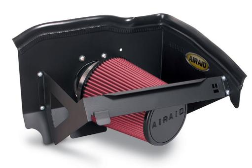 Airaid 05-13 for Nissan Frontier / Pathfinder / Xterra CAD Intake System w/o Tube (Oiled / Red Media) DGQO16BFPHWXS99C