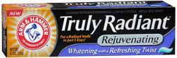Arm & Hammer Truly Radiant Rejuvenating Toothpaste Whitening With A Refreshing Twist - 4.3 Oz
