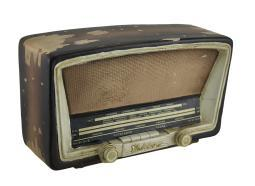Antique Tube Radio Vintage Finish Decorative Coin Bank