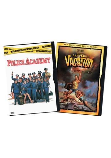 Police academy 20th anniversary/natl lampoons vacation 2pk (dvd)-nla