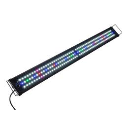 "Multi-Color 156 LED Aquarium Light Full Spectrum Lamp with Extendable Brackets for 45-50"" Fish Tank Freshwater Marine"