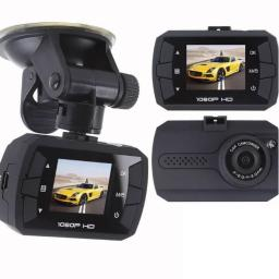 Uniden CAM250 Full HD Dash Cam DVR w/ Night Vision LCD Screen Windshield Mount