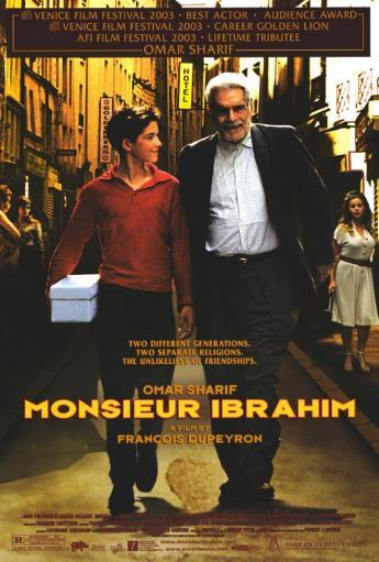 Monsieur Ibrahim Movie Poster Print (27 x 40)