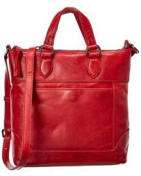 Frye Melissa Small Leather Tote Crossbody