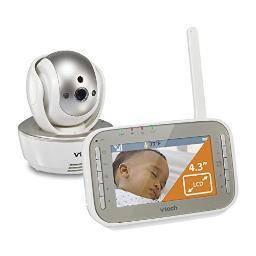 Vtech vm343 safe and sound baby monitor