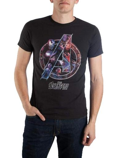 Marvel Avengers Infinity War Shirt - Avengers Logos With Heroes Inside Tee