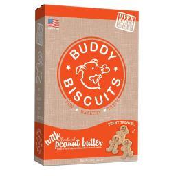 Buddy Biscuits 12507 Buddy Biscuits Original Oven Baked Crunchy Treats Peanut Butter 3.5 Pounds
